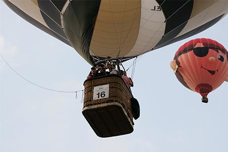motor luchtballon barneveld